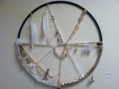 Mandala Dream Catcher by Heather Wulfers 2013