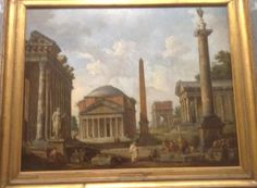 What i like about landscape is the 1800century side to it, with the rome style work and buildings .