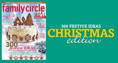Family Circle Christmas edition on sale now!