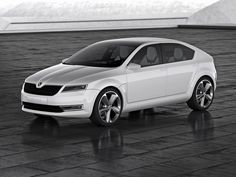 Skoda_Rapid hatchback x Volkswagen Golf, Concept Cars, Product Launch, Vehicles, Vans, Shape, Traditional, Future, Awesome