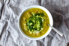 Here are a few things I know to be true: Split pea soup is never going to win the winter soup Olympics. Its signature hue of mushy pea green will never be prized as fashionable by anyone but the un…