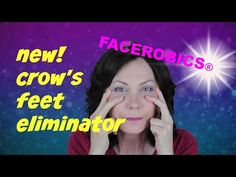 Face Exercise - Try This New Crow's Feet & Upper Cheek Wrinkle Eliminator Face Exercise! - YouTube
