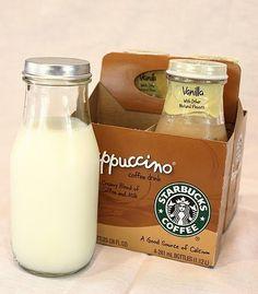 Garrafas vintage Starbucks
