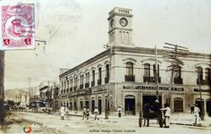 Fotos de Torreón, Coahuila, México: AVENIDA HIDALGO Circa 1910-1920