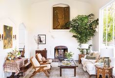 This Stunning 1920s Home in Hollywood Dell Will Give You Nostalgia via @MyDomaine