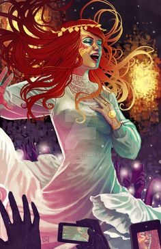 WicDiv Amaterasu by Stephanie Hans...need to get a print of this!!!