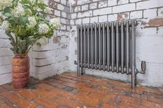 Core 3 column bare metal radiator