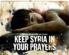 Everyday in Syria it is worse than what we saw in Paris this day. Pray for Syria and that ISIL and those evil governments that are supplying them will have an everlasting end to them.