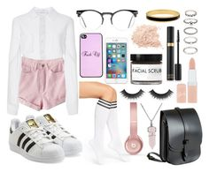 """""""❊ ❊ ❊"""" by patricia-manso ❤ liked on Polyvore featuring Carolina Herrera, Arthur George, adidas Originals, Lost Property of London, Beats by Dr. Dre, Spitfire, Rimmel, Fig+Yarrow, Forever 21 and Bling Jewelry"""