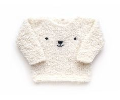 Knitted Teddy Bear Sweater - Baby Knits - [ EASY Pattern & Tutorial ]