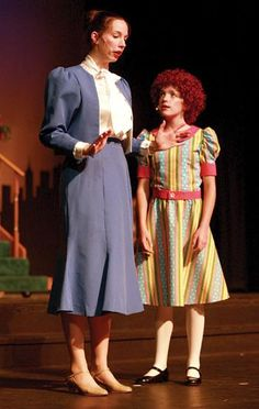 """Chanticleer Community Theater opened its season Sept. 11 with """"Annie Warbucks,"""" and it was a nice experience watching some familiar faces in familiar roles. Annie Musical, Annie Costume, Theatre Reviews, Musical Theatre, Costumes, Costume Ideas, Costume Design, Musicals, Broadway"""