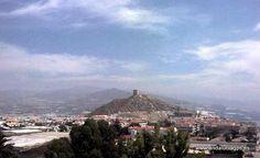 """#Granada #Gualchos-Castell de Ferro -    Castillo de Castell de Ferro GPS 36º 43' 4"""" -3º 21' 48"""" / 36.717778, -3.363333   De origen romano y posterior restauración árabe, se observa la torre cuadrangular, único resto que se conserva del castillo. Fue lugar de gran importancia estratégica a lo largo de los siglos, habiendo sufrido ataques en diferentes épocas, sobre todo, a lo largo del siglo XVII por parte de piratas berberiscos."""