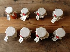 What a variety of homemade jams. Some of them yoiu had never experienced before!