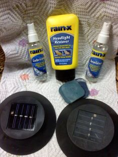 I don't through away items until I know for sure it has out lived it's usefulness and a great example are Old solar Yard lights. I came up with two ideas and I have...