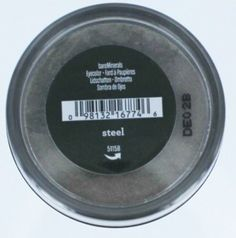 Bare Escentuals BareMinerals Steel Eye Shadow -- Click image for more details. (Note:Amazon affiliate link)