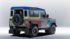 Paul Smith llena de color el Land Rover Defender. - diariodesign.com