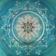 love this mandala and the colour.... mandalas are really nice to look at and are powerful in meaning and to look at