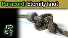 Simple Paracord: Eternity knot (single strand decorative knot)