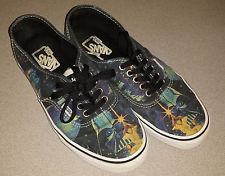VANS Authentic Star Wars Poster Skate Lace Up Shoe Mens 7.5/Womens 9