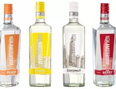 Best Brands of Cheap Vodka for the Frugal Drinker: New Amsterdam Vodka.may be cheap but it's freaking delicious! Mango Vodka, Vodka Red, Peach Vodka, Citrus Vodka, Infused Vodka, Best Flavored Vodka, Vodka Mixed Drinks, Liquor Drinks, Fruity Drinks