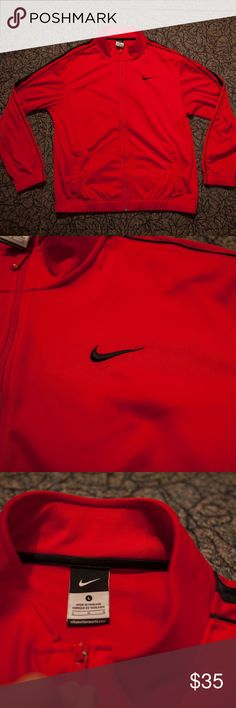 Nike Jacket Like brand new. Sized large, super comfortable, and looks great. Perfect for the spring! Nike Jackets & Coats Performance Jackets