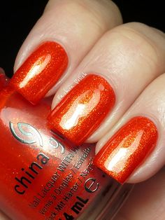 From www.fashionpolish.com ! China Glaze Riveting...so gorgeous!