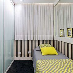 moderne Schlafzimmer von VITRAL arquitetura . interiores . iluminação