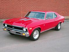 """Red 1969 Chevy Nova SS """""""""""
