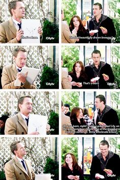 Barney, Marshall & Lily :) how i met your mother #himym
