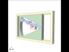 Rack pinion mechanism 7 - YouTube Mechanical Gears, Sliders, Toys, Frame, Youtube, Fabric, Art, Wood, Germany
