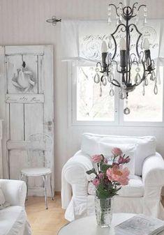 Stunning -> Shabby Chic Decor Living Room #get