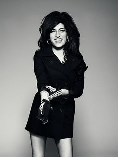 Amy Winehouse, by Bryan Adams she is so happy here