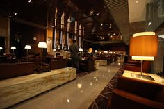 Singapore Airlines First Class Lounge by Richard Moross, via Flickr