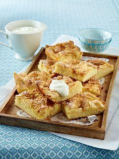 Lust auf Apfelkuchen? Wir haben die besten Rezepte. Und das, das ganze Jahr über: ein Schwedischer Apfelbiskuit, eine Apfel-Rosen-Tarte,