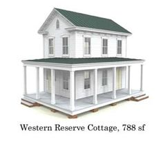 Western Reserve Cottage..two bedroom, bath and a half