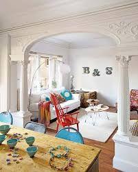 Resultado de imagen para decoracion de interiores de casas con arcos y columnas