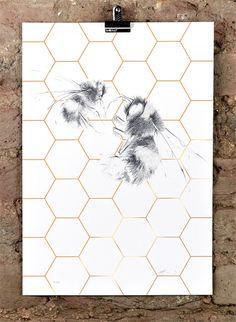 jessica albarn • queen worker - wild honey • £95.00