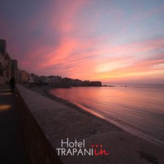 Our Trapani <3 We love the colours of sunset, the warmness of the touch www.hoteltrapaniin.it Hotel Trapani In #hotel #trapani #sicily #sunset