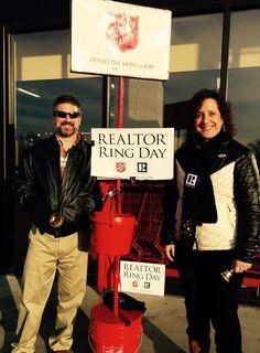 Thank you for ringing on REALTOR® Ring Day!   #LincolnREALTORSCare #REALTORRingDay #RedKettleReason #Realtor #RealEstate #Nebraska