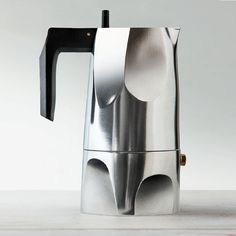 Alessi Ossidiana Stovetop Espresso Maker   Stardust