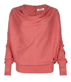 Elgar Cowl Neck Pullover, Women, Sweaters, AllSaints Spitalfields - Chic Fashion Pins : The Cutest Pins Around! Look Fashion, Autumn Fashion, Fashion News, Fashion Trends, Denim Shirt Men, Cowl Neck, In This World, Just In Case, What To Wear