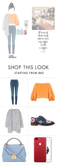 """┇ MEMBERS ┇ HANA - REST DAY AT A COFFEE SHOP"" by dreamcatcher-official ❤ liked on Polyvore featuring River Island, TIBI, MANGO, Anouki and Mark Cross"