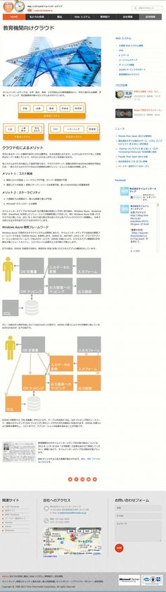 http://www.timedia.co.jp/websystem_education.html - Educational web system development (Time Intermedia Corp.)