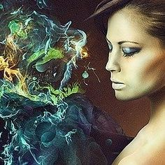 Create this Amazing Fashion Photo Manipulation with Abstract Smoke and Light Effects