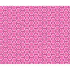 SheetWorld Fitted Portable / Mini Crib Sheet - Primary Bubbles Pink Woven