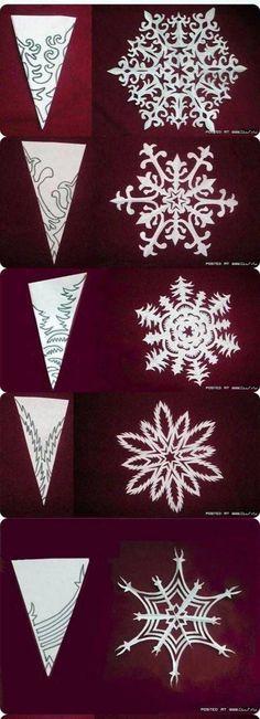 Paper Cutting Patterns