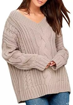 Baggy Sweaters, Casual Sweaters, Sweater Coats, Pullover Sweaters, Sweaters For Women, Cardigans, Loose Sweater, Long Sleeve Sweater, Knit Fashion