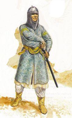 https://flic.kr/p/7PPCeo | Arab Warrior | illustration of Gerry Embleton showing a syrian arab muslim warrior of the Ayyubid dynasty during the third crusade