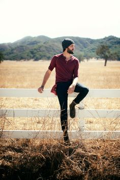 beanies & fields & beards lol this October when the guys have there beards hahaha @Twila Willie Auger Austin