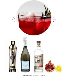 Mrs Lillien Holiday Punch via Balue + Co